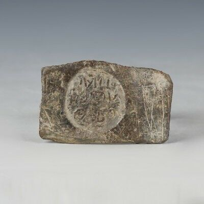 Greco-Roman lead seal fragment