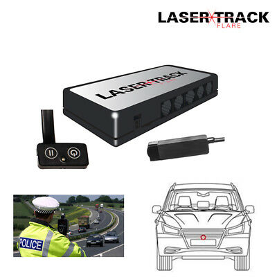 Lazer Track Flare Single Transponder Kit Speed Trap Lazer Detector Beam Gun
