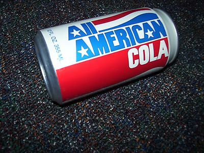 All American Cola~Soda Can~Krier Foods Inc~Belgium Wisconsin~Aluminum~12 Oz
