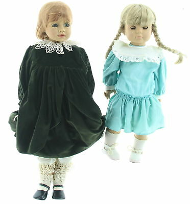 Lot Of 2 Gotz Dolls Fabienne And Rosanna