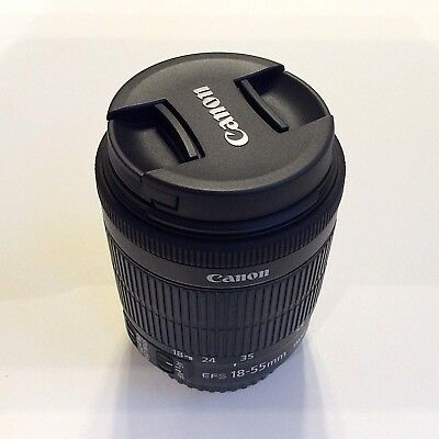 New! Authentic Canon Zoom EF-S 18-55mm f/3.5-5.6 IS STM Lens