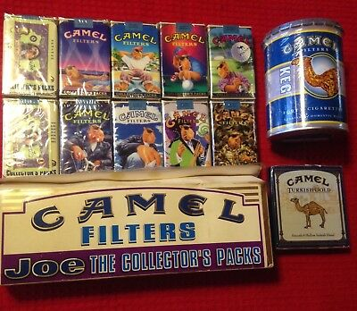 collectible camel filter set