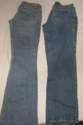 ~Lot of 2~pair Levi's 550-size 8M & 524-size 9