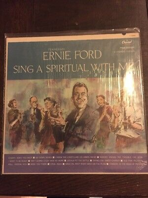 Tennessee Ernie Ford LP Sing A Spiritual With Me