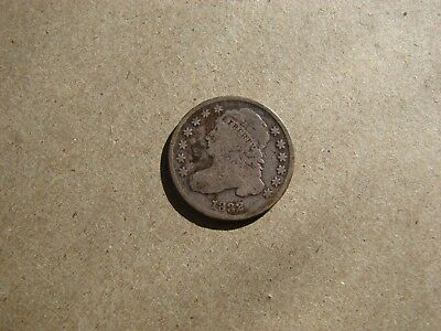 1832 Capped Bust Dime (10 Cent) Siver Coin Nice Shape
