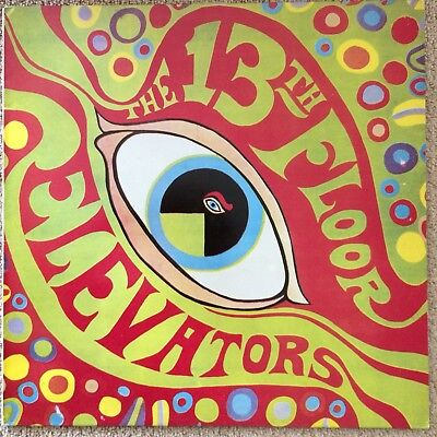 THE PSYCHEDELIC SOUNDS OF THE 13TH FLOOR ELEVATORS NM 1988 on CHARLY RECORDS
