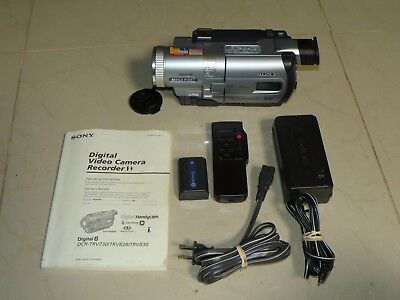 Sony DCR-TRV830 Digital8 Camcorder - Record Play Transfer VCR Hi 8 Video8 Tapes