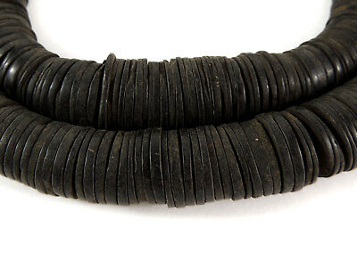 Coconut Shell Beads Disks Heishi Africa  SALE WAS $22