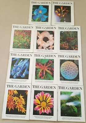 RHS  'The Garden' Magazine, 1998,, 11 x issues