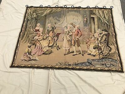 Antique (1900-1910) French-made wall tapestry