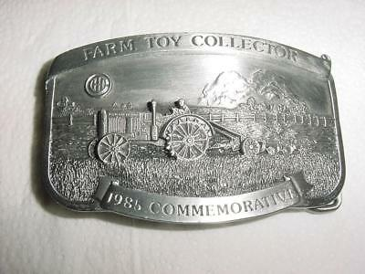 MINT IHC Pewter Belt Buckle Serial Number 439 of 500 1985 COMMEMORATIVE Buckle