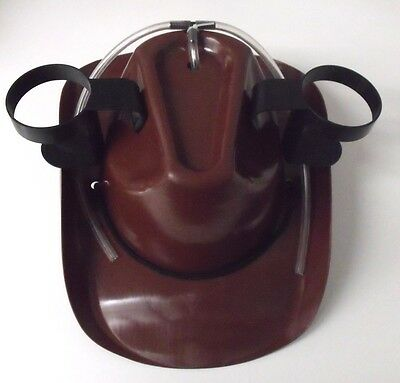 Drinking Beer Cowboy Hat Brown Great Party Hat