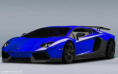 "Lamborghini Sports Car (24) New 24"" x 36"" poster USA Seller"