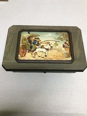 Lowell Davis Music Box. No 5901 Schmid 1991 take me home country roads. Reuge