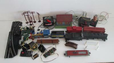 Mixed Lot of Vtg American Flyer Lines Model Trains Transformers Steam Whistles