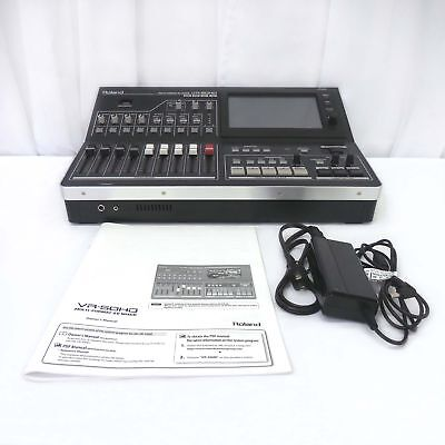 Roland VR-50HD Multi-Format AV Mixer with HD Inputs and Outputs in GREAT COND