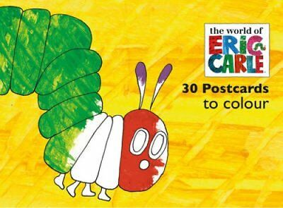 The Very Hungry Caterpillar Postcards to Colour by Eric Carle 9780711237469
