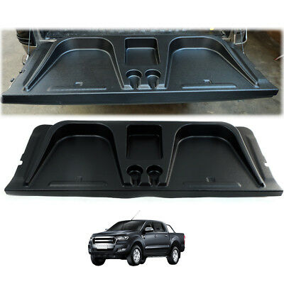For 2012-18 Ford Ranger Rear Back Tail Gate utility Cover Black