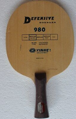 Defensive Galaxy / YinHe 980 Table Tennis Blade/Baseboard, NEW US