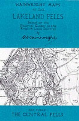 Wainwright Maps of the Lakeland Fells: The Central Fells Map 3 9780952653059