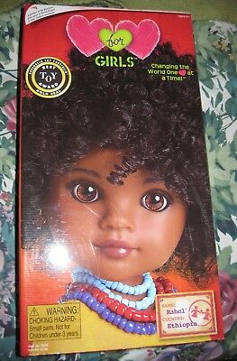 Hearts for Hearts Doll Rachel from Ethiopia New In Box