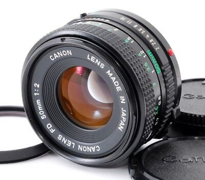 CANON FD NFD 50mm f/2 FD Mount Manual Focus [Excellent] from japan