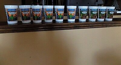 Lot of 10 Vintage Masters of The Universe He-Man Cups Burger King Pepsi