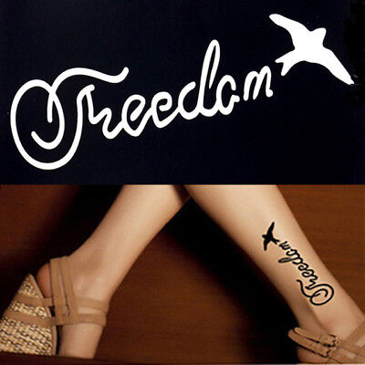 Henna Tattoo Stencil Freedom Bird Design Small Mehndi Tattoo Template UK