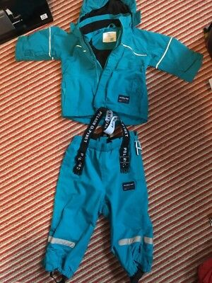Polarn O Pyret Ski / Waterproofs Boys 9-12 Months