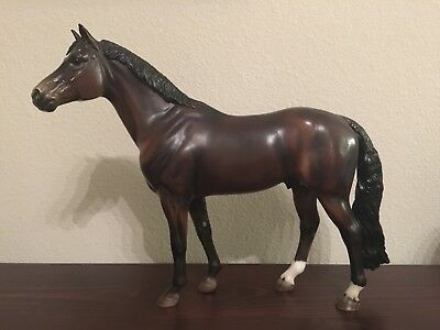 Breyer Traditional Horse #1475 Ravel Dark Bay Warmblood Stallion Idocus Mold