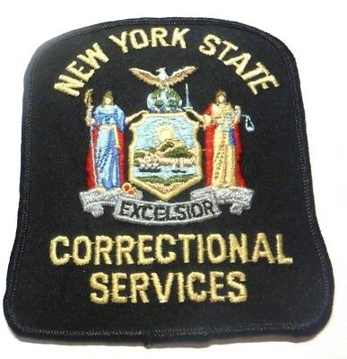 Old New York State Correctional Services Patch Unused
