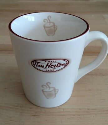 "Tim Hortons Coffee Mug Cup #7 2007 ""Always Fresh"" Limited Edition"