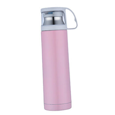 Insulated Stainless Steel Water Bottle Thermal Flask Drinks Bottle Pink