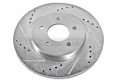 Power Stop (AR8174XL-XR) Drilled and Slotted Rotors ( 05-14)  Mustang Rear