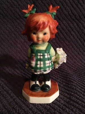 "Goebel Redhead ""Girl With Flowers"" BYJ 45 - 1963 -"