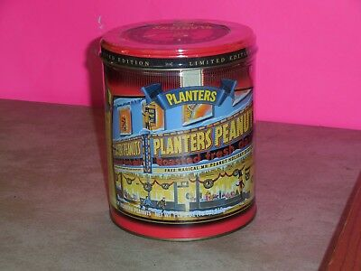 1998 Limited Edition Planters Peanuts Sealed Full collectible Nut Tin