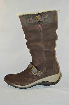 Cushe ALLPINE FIR WP SLIP ON BOOTS Womens shoes size 6 NEW DARK BROWN WATERPROOF