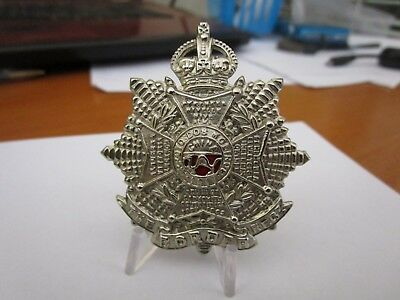 WWI British Army The Border Regiment KK645 Cap Badge #1651