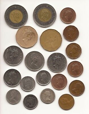 Collection of Miscellaneous Canadian Coins