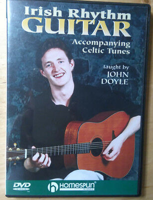 HOMESPUN  Irish Rhythm guitar lern-DVD  by John DOYLE
