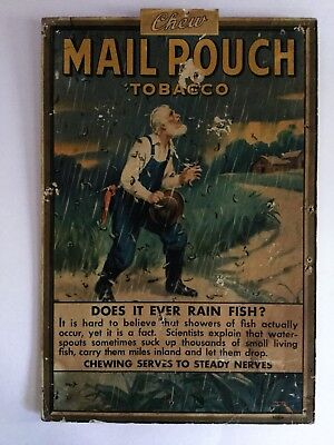 Mail Pouch Tobacco Sign