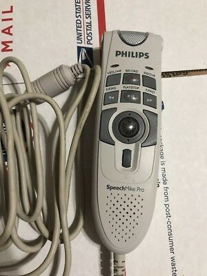 PHILIPS LFH5274/00 SpeechMike Pro USB Wired Dictation Microphone