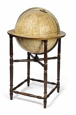 Extremely Rare  English Celestial Library Globe  By J. Addison, Circa 1821