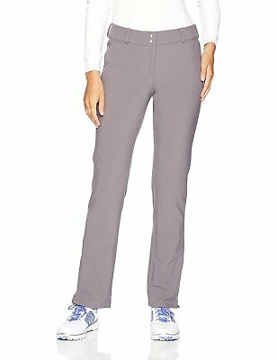 adidas Golf Womens Fall Weight Pants, Trace Grey, Size 6