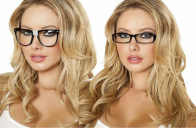 sexy ROMA nerd SECRETARY teacher LIBRARIAN adult GLASSES party COSTUME accessory