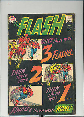 "Flash #173, (Sept. 1967, DC), ""Downward Flight of the Flashes"", [1.8 GD-]"
