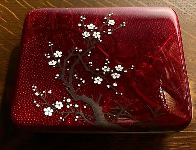 Antique Japanese Damascene Box. Beautiful and Incredible Condition!