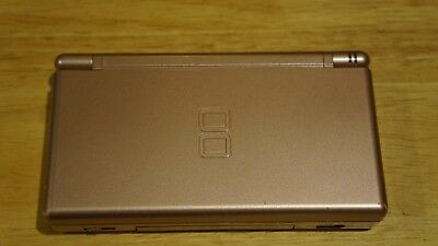 Nintendo DS Lite Metallic Rose Pink Console Handheld System Tested