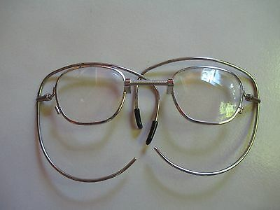 Vintage Steam Punk Eyeglasses    Spring nose wide Ears   Very rare and Awesome!