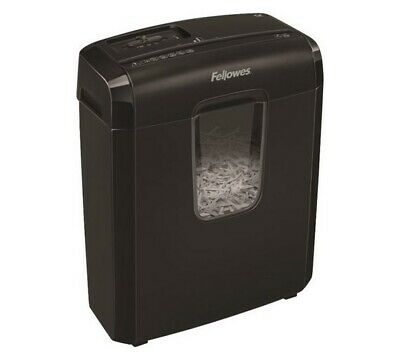 Fellowes 6C 6 Sheet Cross Cut Shredder 4 x 35mm CrossCut Throat Width 220mm